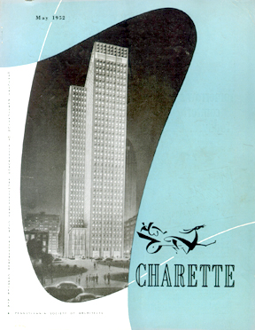 May 1952 cover of Charette